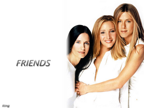Friends wallpaper containing a bridesmaid and a portrait called Friends Wallpapers