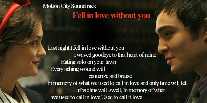 Last night i fell in love without you lyrics