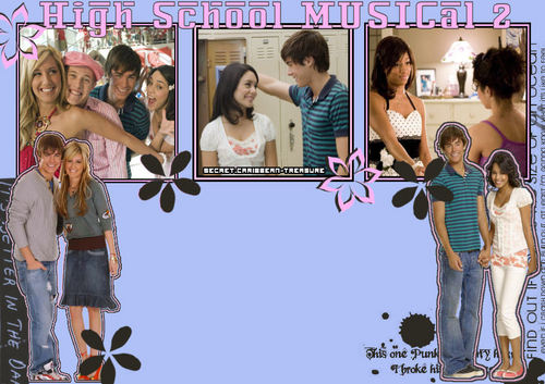 HIGH SCHOOL MUSICAL 1+2+3 바탕화면