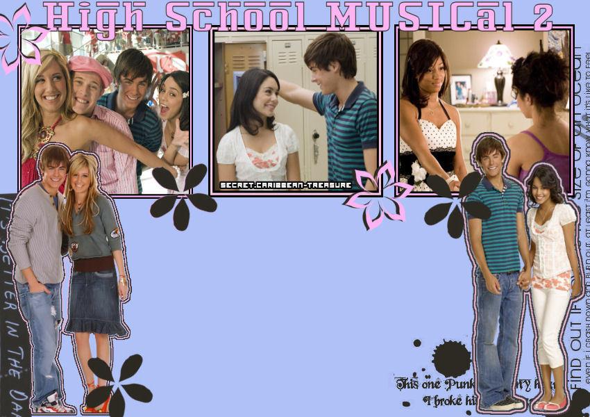 HIGH SCHOOL MUSICAL 1+2+3 वॉलपेपर्स