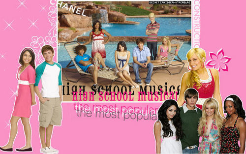HIGH SCHOOL MUSICAL 1+2+3 Обои