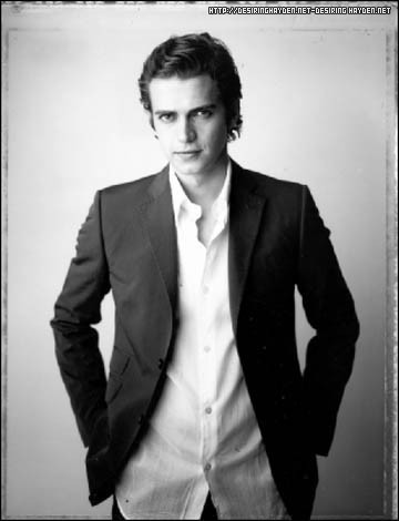 Hayden Christensen achtergrond containing a business suit, a suit, and a double breasted suit entitled Hayden <3