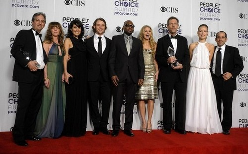 House Cast @ the 35th Annual People's Choice Awards
