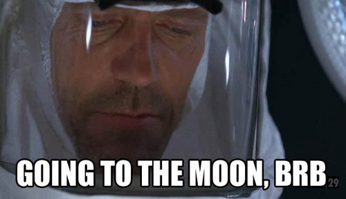House Going to the Moon