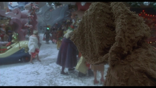 How The Grinch украл, палантин Рождество Обои called How The Grinch украл, палантин Рождество