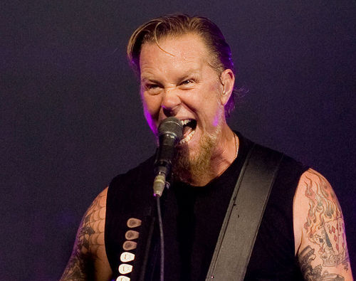 James Hetfield Live In লন্ডন 2008