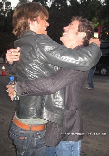 Jared and Jeffrey Dean morgan