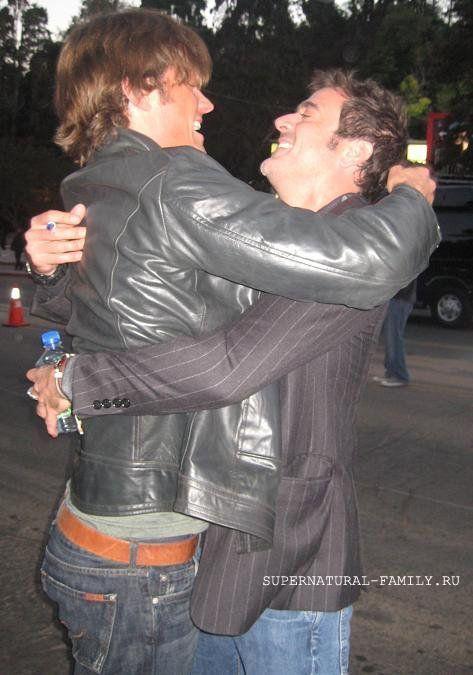 Jared and Jeffrey Dean morgan