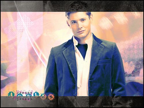 Jensen Ackles kertas-kertas dinding