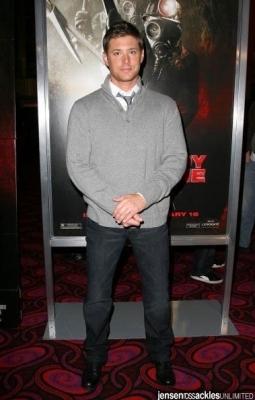 Jensen @ My Bloody Vanetine 3D Premiere