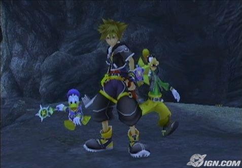 kingdom hearts sora. Kingdom Hearts 2