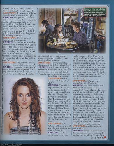 """Kristen in """"Film Fantasy"""" 2009"""