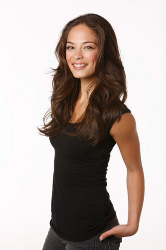 Kristin Kreuk wallpaper possibly with a bustier, a cocktail dress, and tights entitled Kristin Kreuk