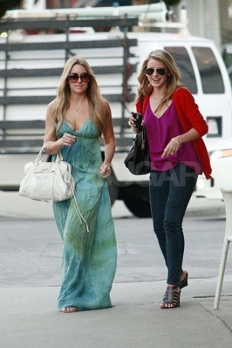 Lauren & Lo Out to Lunch in LA