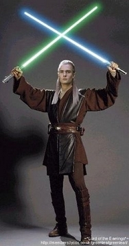Legolas and Lightsabers!