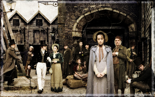 Little Dorrit wallpaper possibly with a street entitled Little Dorrit Prison Widescreen