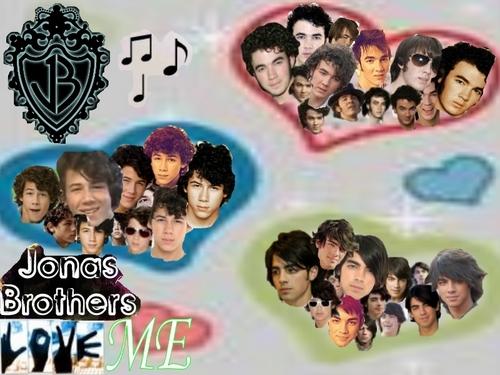 Nick Jonas Hintergrund entitled GOTTA LUV 'EM