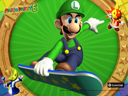 Mario Party 6 Luigi Wallpaper