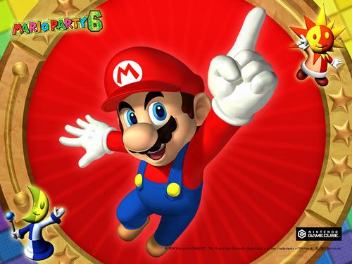 Mario Party 6 achtergrond