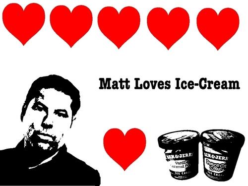 Matt Loves 아이스크림 바탕화면