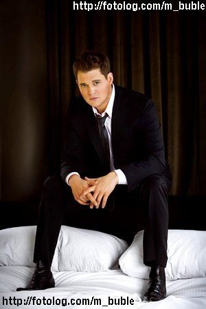 Michael Bublé Hintergrund containing a business suit, a suit, and a well dressed person titled Michael Buble