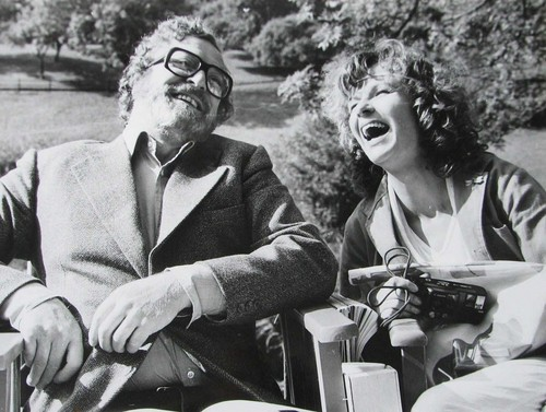 Michael Caine and Julie Walters