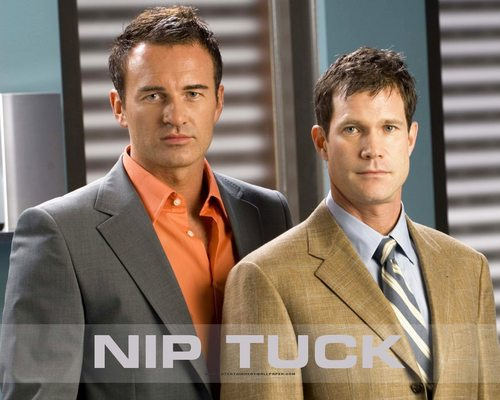 Nip/Tuck wallpaper with a business suit, a suit, and a three piece suit entitled NIP/TUCK