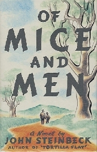 Of Mice and Men wallpaper possibly containing anime entitled Of Mice and Men Book Cover