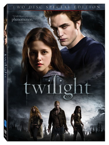 HQ Official Twilight DVD Cover