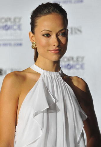 Olivia Wilde @ the 35th Annual People's Choice Awards