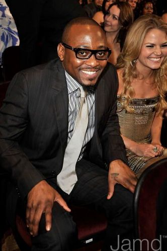 Omar Epps and JMo @ the 35th Annual People's Choice Awards