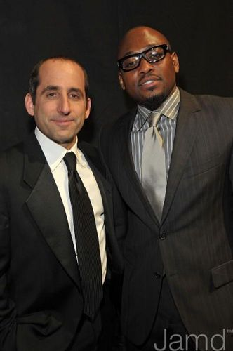 Omar Epps and Peter Jacobson @ the 35th Annual People's Choice Awards