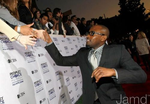 Omar Epps @ the 35th Annual People's Choice Awards