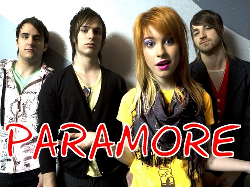 Paramore پیپر وال probably containing a portrait entitled Paramore
