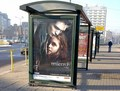Poster at a bus stop in Poland 2009 - twilight-series photo