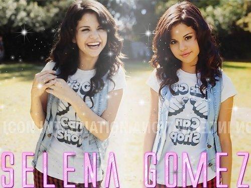 Selena karatasi za kupamba ukuta