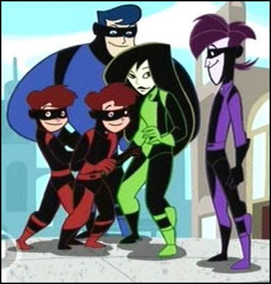"Shego & Brother ""Team Go"""