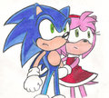 SonAmy - sonamy fan art
