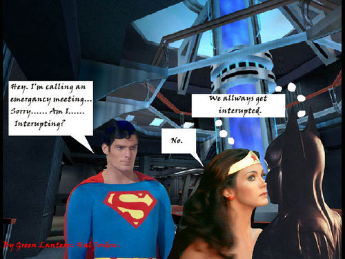 Superman, Wonder Woman And batman
