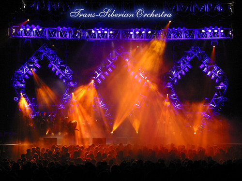 Trans-Siberian Orchestra wallpaper probably containing a concert and a fire entitled TSO Wallpaper