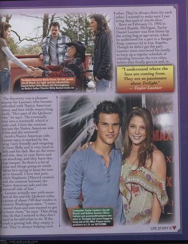 "Taylor in ""Film Fantasy"" 2009"