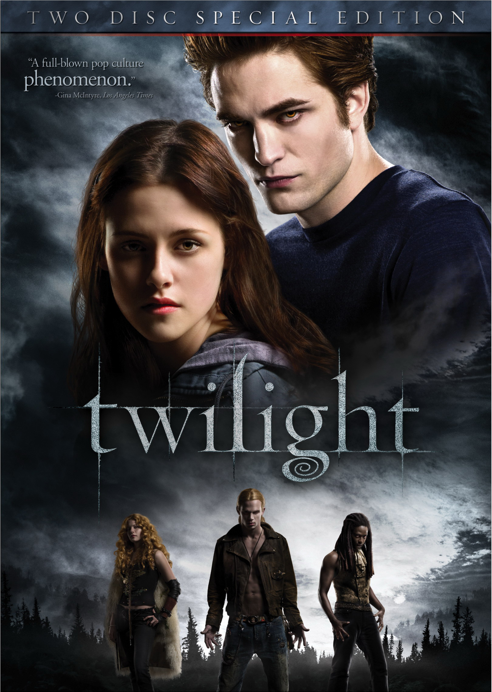 Twilight DVD Cover Poster [2D]