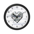 Twilight-Edward Heart Charm and Quotes wall clock - twilight-series photo