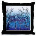 Twilight Forest Throw Pillow - twilight-series photo
