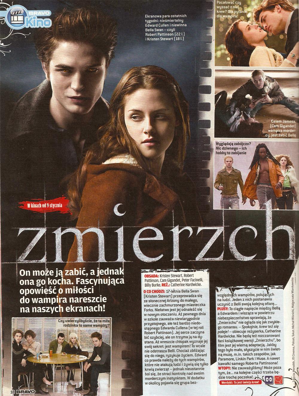 Twilight in Bravo 2009 (Poland)