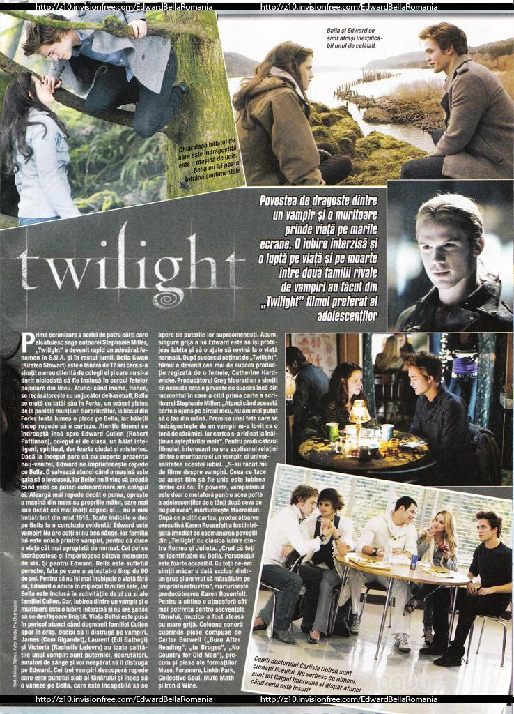 "Twilight in ""Popcorn"" 2009 (Romania)"