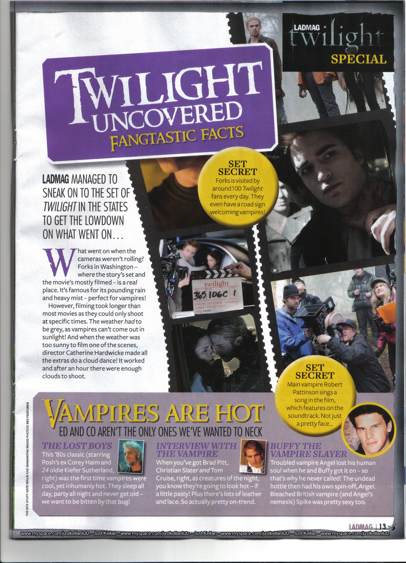 Twilight in Sugar Magazine 2009