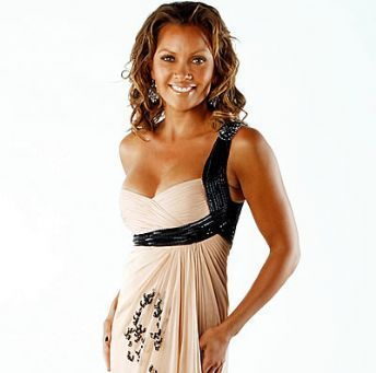Vanessa Williams achtergrond probably with a avondeten, diner dress, a cocktail dress, and a strapless entitled Vanessa Williams
