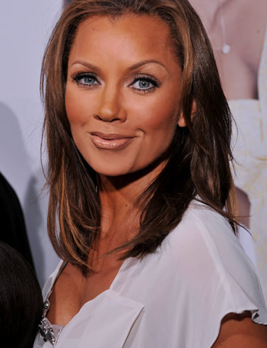 Vanessa Williams achtergrond with a portrait titled Vanessa Williams