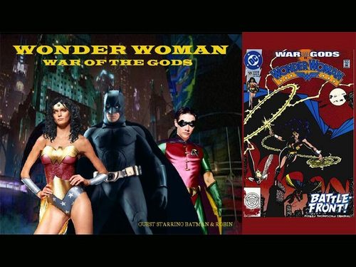 Wonder Woman, Batman And Robin - wonder-woman Wallpaper